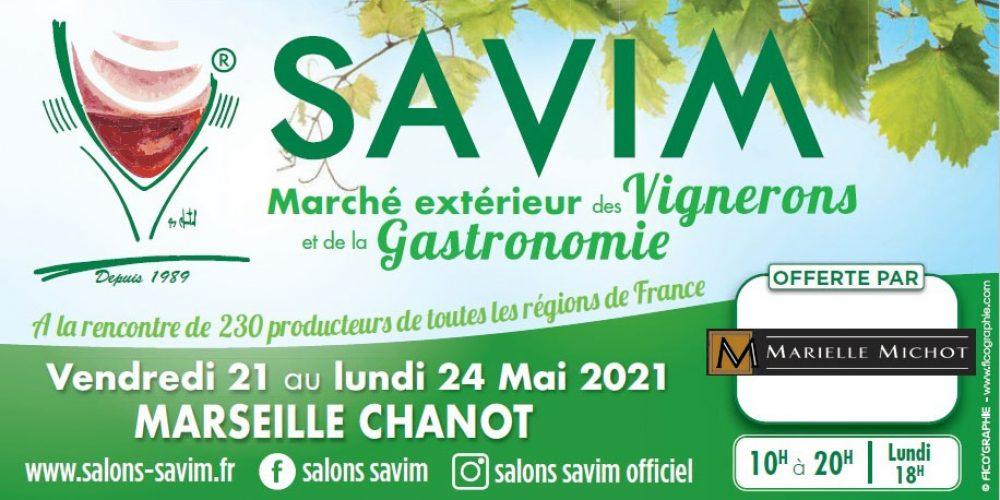 SAVIM : Marché extérieur des Vignerons et de la Gastronomie du 21 au 24 mai